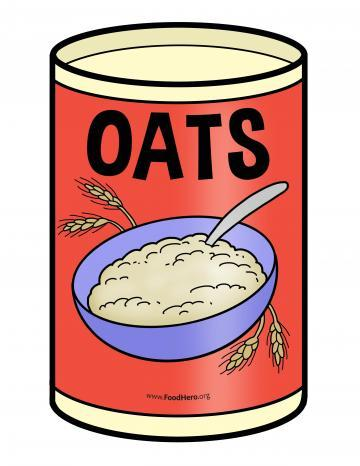 Oat Canister Illustration