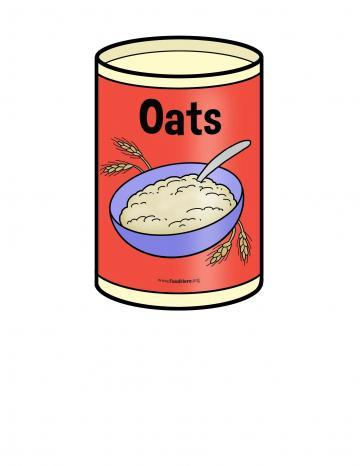 Oats Illustration