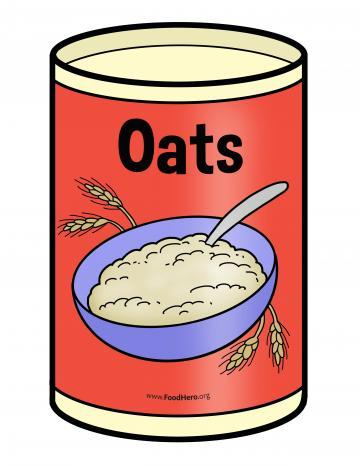 Oats Canister - English