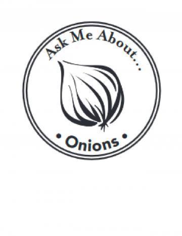 Onions Hand Stamp