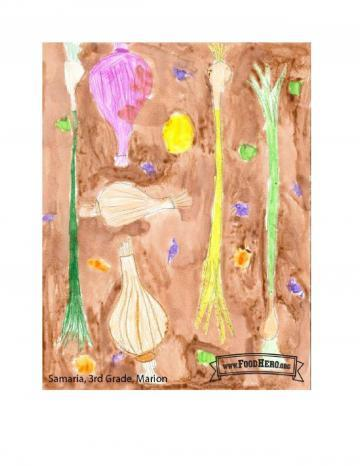 Kids Art Winners - Onion