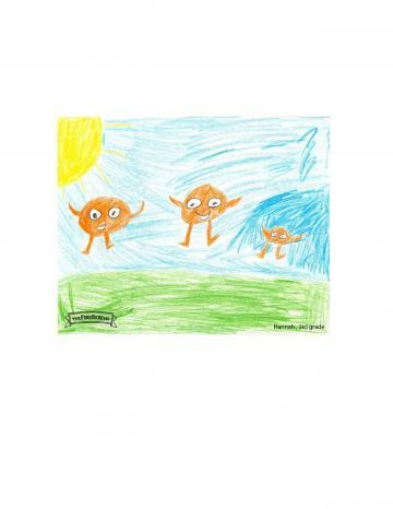 Oranges | Kids Art Contest