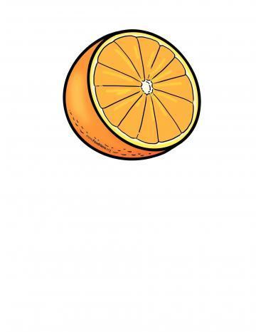 Ilustración de Naranja