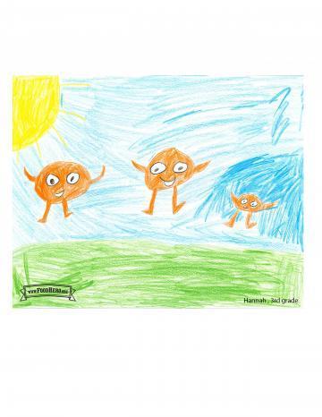 Naranjas - Kids Art Contest