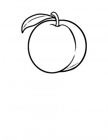 Peach Blackline