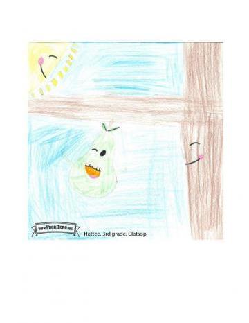 Niños Art Winners - Peras