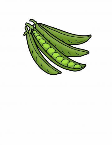 Ilustratión de Chícharos