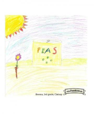 Niños Art Winners - Chícharos
