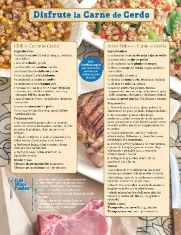 Pork Monthly Spanish 2