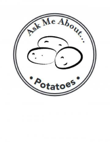 Potatoes Hand Stamp