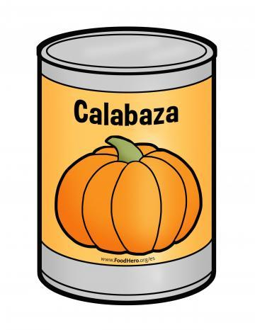 Canned Pumpkin - Spanish
