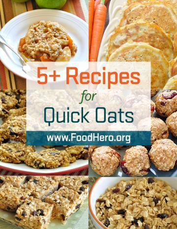 Quick Oats Recipes