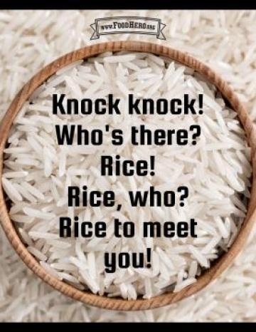 Rice Joke