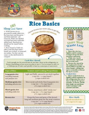 Rice Monthly