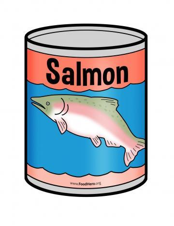 Canned Salmon - English