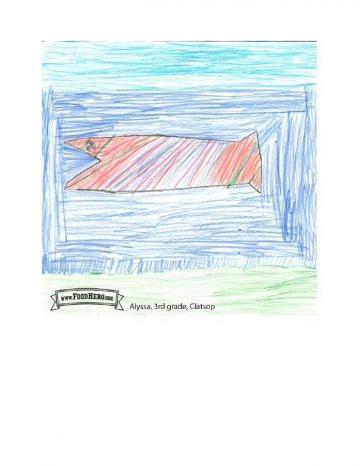 Niños Art Winners - Salmón