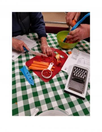 Senior Center Food Prep