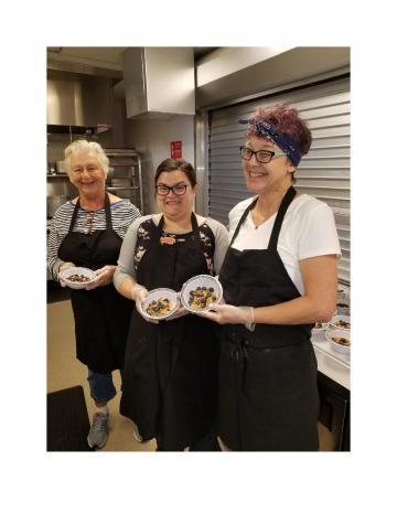 Senior Center Kitchen Crew