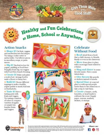 Healthy Celebrations Monthly - English