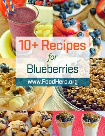 Recipes for Blueberries