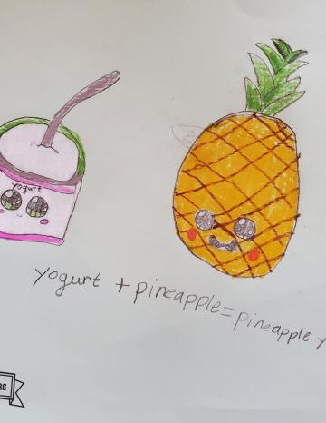 Kid art winner - Pineapple
