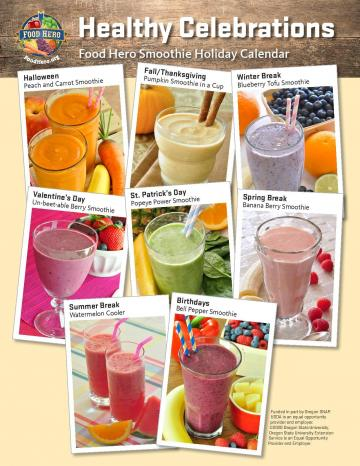 Smoothie Holiday Poster