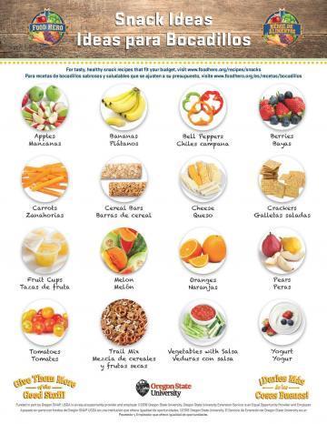 Snack Ideas - Bilingual