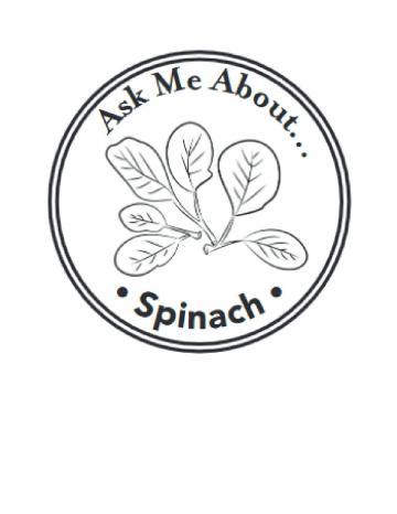 Spinach Hand Stamp