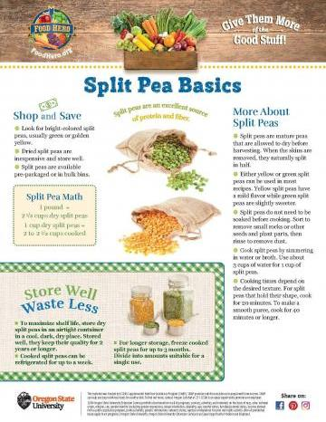 Split Pea Monthly