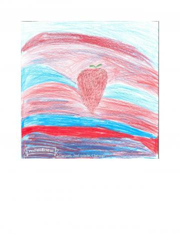 Kids Art Winners - Strawberries