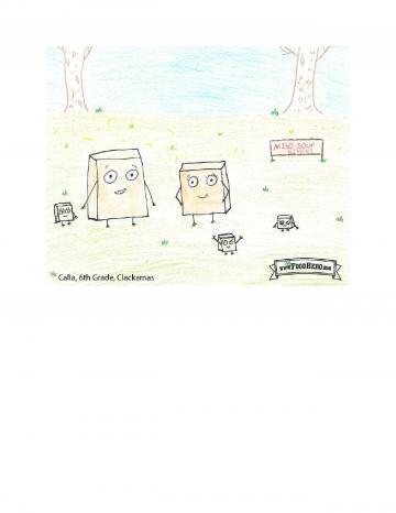 Kid Art Contest- Tofu