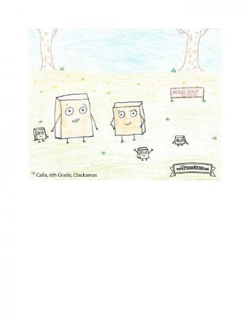 Niños Art Winners - Tofu