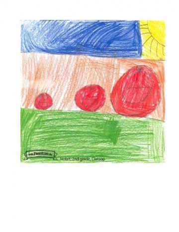 Niños Art Winners - Tomates