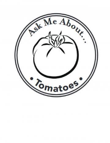 Tomatoes Hand Stamp