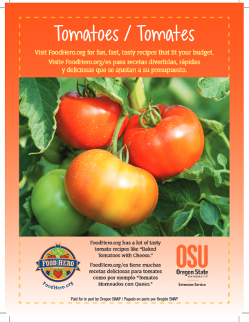 Tomatoes English and Spanish