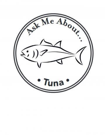 Tuna Hand Stamp