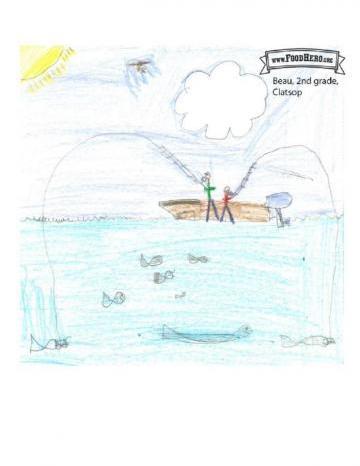 Niños Art Winners - Atún