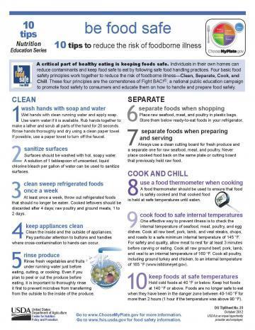 USDA Food Safety Guidelines