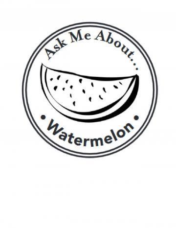 Watermelon Hand Stamp