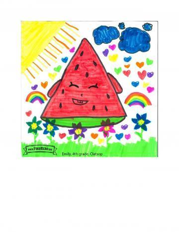 Kids Art Winners - Watermelon