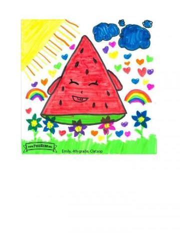 Niños Art Winners - Sandía