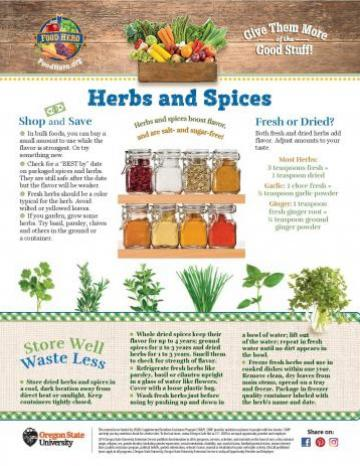Herbs and Spices Monthly