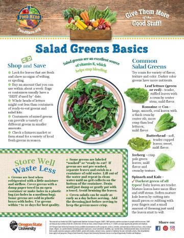 Salad Greens Monthly