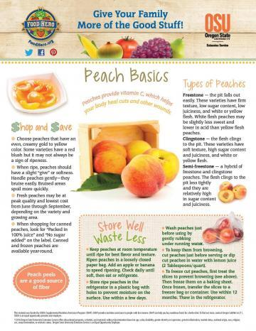 Peach Monthly