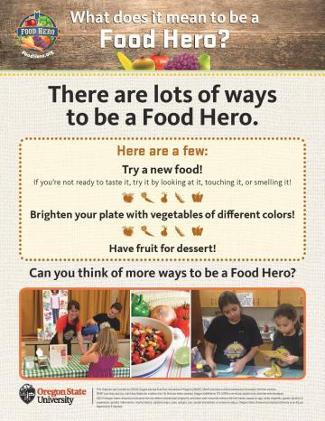 What does it mean to be a Food Hero? - English