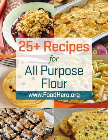 Recipes for All Purpose Flour