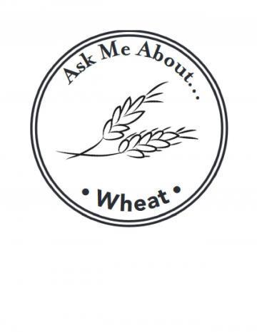 Wheat Handstamp - English