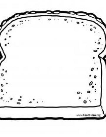 Whole Grain Bread Blackline
