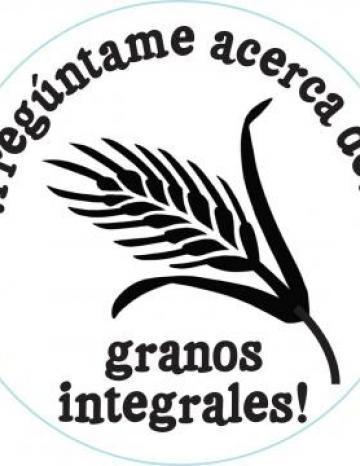 Whole Grain Handstamp - Spanish