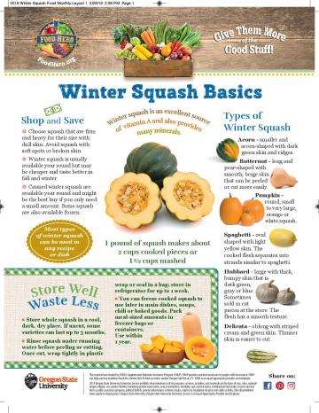 Winter Squash Monthly Magazine
